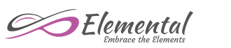 elemental embrace the elements logo and graphic