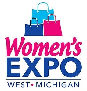 women's expo west Michigan logo
